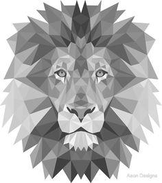 Geometric+Lion+in+B