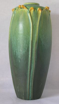 Door Pottery Arts Crafts Matte Green