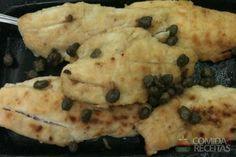 Receita de Badejo ao molho de alcaparras em receitas de microondas, veja essa e outras receitas aqui!