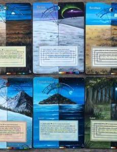 Frameless   Sandreline MTG Altered Cards