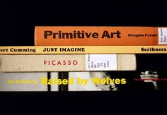 Playful Book Spine Poetry by Nina Katchadourian