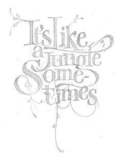 Arte + tipografia. A dupla perfeita.