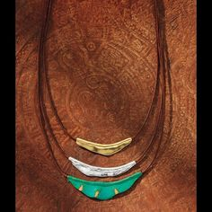 """Silpada Cayman Tiered Necklace N3114 Take your style on vacay with laid-back layers and a pinch of Patina. Brass, Brown Cotton Cord, Sterling Silver.  Adjusts: 17.00"""" - 19.00""""  Material: Brass, Sterling Silver Silpada Jewelry Necklaces"""