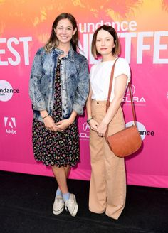 Actors Analeigh Tipton and Emily Browning attend 2017 Sundance NEXT FEST at The Theater at The Ace Hotel on August 2017 in Los Angeles, California. Get premium, high resolution news photos at Getty Images Emily J, Emily Browning, Ace Hotel, Los Angeles California, Stock Pictures, Image Collection, Bomber Jacket, Celebs, Actors