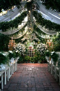 Potential Venue : Conservatory Garden --could be a little small... and in St Charles.. bleh.