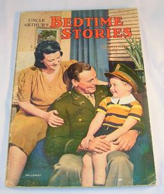 Vintage 1937 Uncle Arthur's BEDTIME STORIES Paperback Book