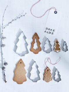 Christmas Tree Cookie Cutters - Tree Decorations - Festive | Cox & Cox