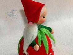 Мастерим куколку на пальчик — реализуем лоскутки. Ярмарка Мастеров - ручная работа, handmade.