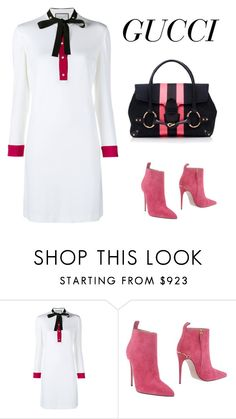 """""""Oh Gucci!"""" by ella178 ❤ liked on Polyvore featuring Gucci, women's clothing, women, female, woman, misses and juniors"""