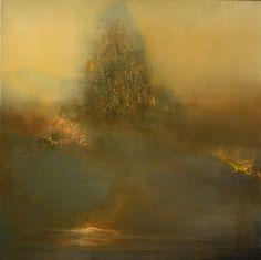 """""""Willow"""" oil on linen 24""""x24"""".                            Maurice Sapiro"""