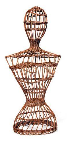 Dummy laundry baskets, dating back to 1900