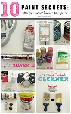 LiveLoveDIY: 10 Painting Tips & Tricks You Never Knew