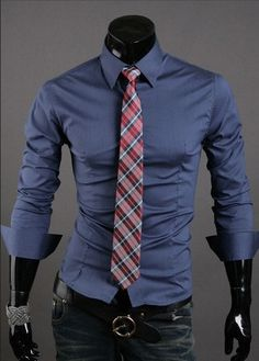Formal Shirts For Men - 10 Color Casual Dress Shirts - Dress Shirts - eDealRetail - 10 Formal Shirts For Men, Casual Shirts, Casual Clothes, Black Long Sleeve Shirt, Long Sleeve Shirts, Golf Knickers, Camisa Formal, Models, Shirt Style