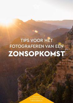 Fotografie tips Nederlands: zonsopkomst fotograferen. Maak een mooie landschapsfoto door vroeg op te staan. Absoluut de moeite waard voor je reisfotografie! #sunsets #fototips