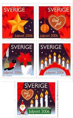 Swedish Christmas stamps