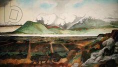 In the Lake District No. 1 (1973) by Edward Burra