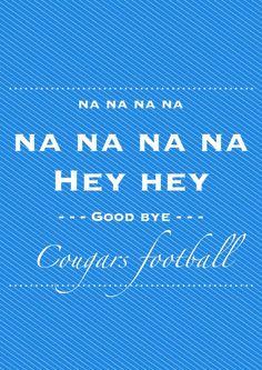 Poster diagramado para a equipe de futebol americano do abc, Cougars Football. Projeto  pessoal de posters.