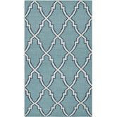 Found it at Wayfair - Dhurries Blue/Ivory Area Rug