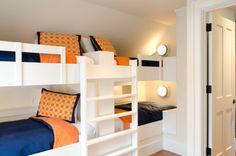 bunk bed, bunk room