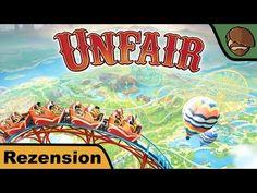 Unfair – Brettspiel – Review #182 | Hunter & Cron