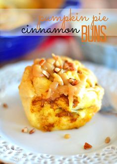Pumpkin Pie Cinnamon Buns