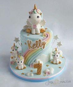 Emma's 1st Birthday  Love the Unicorns