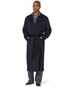 Cashmere Robe Navy