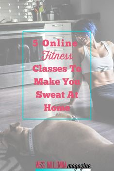 Can't leave your house because of weather, tight schedule, or a bad hair day? Check out these 5 online fitness classes that help you get your sweat on at home! Fitness Goals, Fitness Tips, Fitness Classes, Fitness Motivation, Health Fitness, Exercise Motivation, Easy Fitness, Health Club, Workout Days