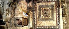 Los extraordinarios mosaicos geométricos encontrados en Uzès, sur de Francia. | Matemolivares