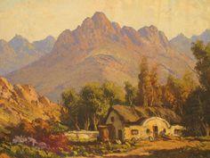 gabriel de jongh - Google Search Gabriel, Artistic Tile, South African Artists, Africa Art, Artist Art, All Art, Landscape Paintings, Parks, Art Photography