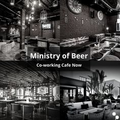 An all-new addition to our list of #UnconventionalWorkspaces, Ministry of Beer is a corporate HubSpot and now a coworking cafe, located in Outer Circle, CP, and Sector-29 Gurgaon is in vogue for its budget-friendly menu and the spatial variety it offers. This place is an instant hit amongst youngsters for its finger food and the unique facility of a business space, others being the smoking room, private dining rooms, lounge and casual sitting options and rooftop settings.