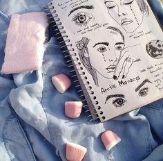 grunge, art, and drawing image Kitsch, Pale Grunge, Grunge Art, Make Art, How To Make, Diy Art, Collage, Art Hoe, Retro