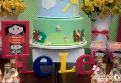 Show da Luna Festa Party, Party Themes, Ideas Party, Toy Chest, Picnic, Birthday, Cake, Amanda, Nova