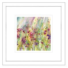 Buy Catherine Stephenson - Summertime Meadow 1 Framed Print, 44 x 44cm Online at johnlewis.com