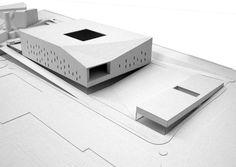 Modelo. Gran Canaria Arena por LLPS Arquitectos. Imagen © LLPS Arquitectos. Señala encima de la imagen para verla más grande.
