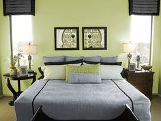 bedroom-decorating-ideas-green-painting-room-decor