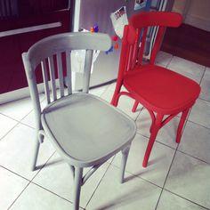Magali P. rénovation chaise bistrot Baumann