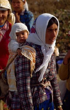 Turkish Mother and Child