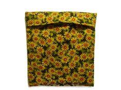 Microwave Potato Bag  Tortilla Warmer Sunflowers by bagsbyhags45, $10.00