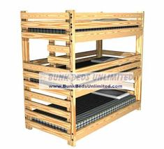 Hardware Kit For Triple Bunk Bed
