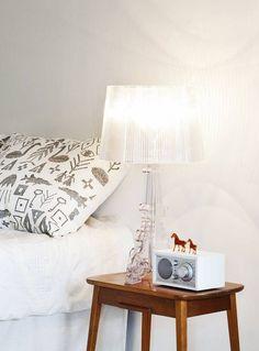 Kartell Bourgie Lampe à poser transparente #design #bedroom #home #design #furniture #light #transparent