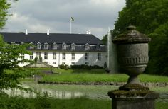 Glorup manor house, located between Nyborg and Svendborg in the south-east of the Danish island Funen. Rebuilt to the design of Nicolas-Henri Jardin and his pupil Christian Josef Zuber in 1763–65, it is considered one of the finest Baroque complexes in Denmark and was included in the 2006 Danish Culture Canon.