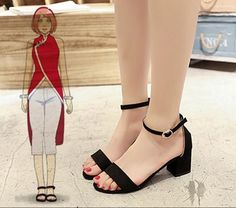 Female size 34 equals to female us size 6 (foot length female size 35 equals to female us size 6 (foot length female size 36 equals to female us size 6 (foot length female size 37 equals to female us size 7 (foot length Cosplay Boots, Cosplay Outfits, Naruto Costume Diy, Black High Heels, Black Boots, Hinata Cosplay, Teen Fashion Outfits, Womens Fashion, School Fashion
