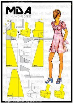 ModelistA: A4 NUMo 0148 DRESS