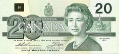 20 Dollars 1991, Kanada