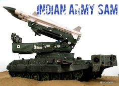 Indian Army SAM.    India's missile power is set to get a boost with a surface-to-air missile unit.