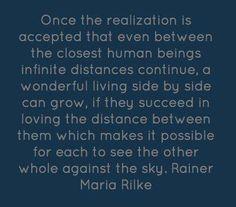 Rilke...nothing else needs to be said