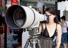 Want to make sure you always have the best lens at your kids sports game? Here you go:  The Canon Super Telephoto 1200mm f/5.6L EF Autofocus Lens |  It's a steal at only $120,000!!