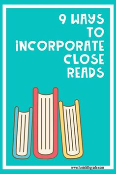 Have you heard about what close reading is and how it can benefit your students, but not sure how to incorporate it into your daily routine? This blog post gives you so many ideas on how to improve your student's reading comprehension levels with some engaging and fun activities and projects. Learn how incorporate close reading into your classroom! These Close reading strategies are great for 3rd grade, 4th grade and 5th grade! Close Reading Strategies, Reading Resources, Reading Activities, Fun Activities, Classroom Resources, Student Reading, Guided Reading, Teaching Reading, Teaching Kids