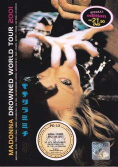 MADONNA Drowned World Tour 2001 DVD NEW Region America NTSC Free Shipping